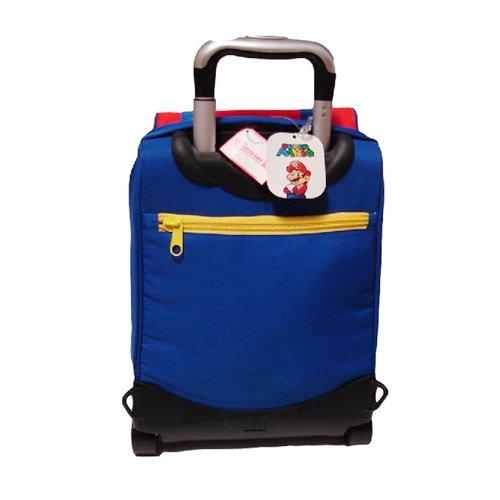 6aab4a2df3 ZAINO ESTENSIBILE CON TROLLEY SUPER MARIO KIDS '14: Amazon.it: Giochi e  giocattoli