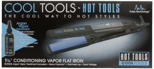 Hot Tools Conditioning Flat Iron, 1.25 Inch