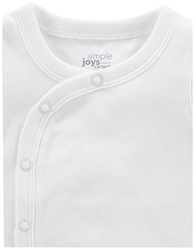 Simple-Joys-by-Carters-Baby-6-Pack-Side-Snap-Short-Sleeve-Shirt