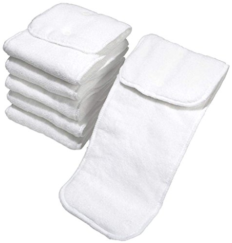 - bumGenius One-Size Microfiber Insert with Adjustable Snaps (Pack of 6)