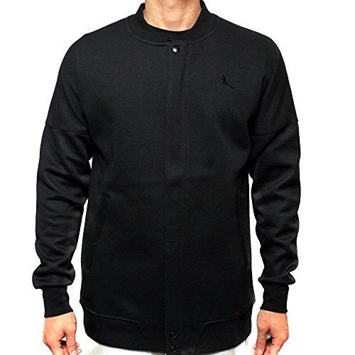 Jordan Black/Black Air Jordan The Varsity Jacket 706735 011 (m) by Jordan
