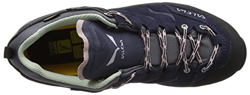 Salewa Women's WS Mtn Trainer GTX-w,Premium Navy/Subtle Green,9 B(M) US by Salewa (Image #7)