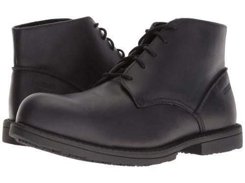 Wolverine(ウルヴァリン) メンズ 男性用 シューズ 靴 ブーツ 安全靴 ワーカーブーツ Bedford Chukka Steel Toe Black [並行輸入品] B07DNQ2P63 7 D Medium