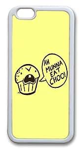 IMARTCASE iPhone 6 Case, Cannibal Cupcake iPhone 6 Case TPU White