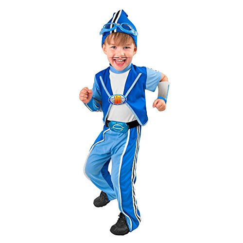 Toddler Deluxe Sportacus Halloween Costume (3-4T)