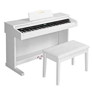 lagrima digital piano 88 key electric keyboard piano for beginner adults with. Black Bedroom Furniture Sets. Home Design Ideas