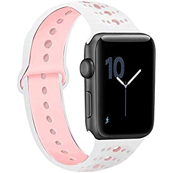 Amazon.com: EloBeth Compatible with Apple Watch Band 44mm