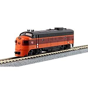 Kato-USA-Model-Train-Products-N-EMD-FP7A-Milwaukee-Road-95C-Powered-Locomotive