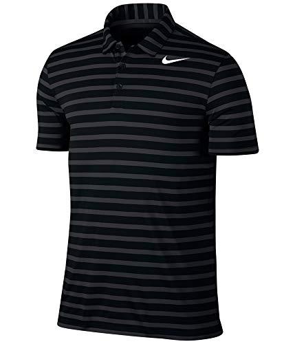 Nike Golf Outlet - Nike Golf Men's 2017 Breathe Stripe Polo, Black/White, Large