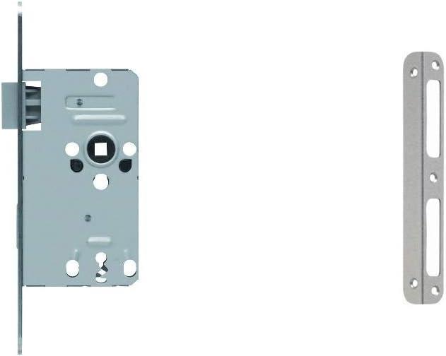 ❤️HobbyHerz 10 St/ück Kettenverschluss im Set mit Tunnel-Drehverschluss zum Schmuck-Basteln Platin 12 x 4 mm