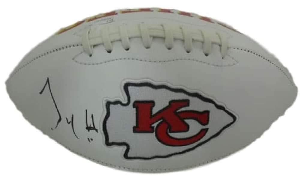 Tyreek Hill Autographed Kansas City Chiefs White Logo Football JSA