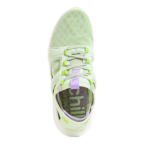 adidas CC ROCKET BOOST Zapatillas De Footing De Mujer halo s16-semi solar slime-purple glow