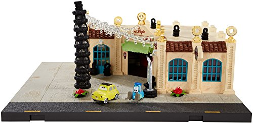 - Disney/Pixar Cars Precision Series Luigi's Casa Della Tires Playset