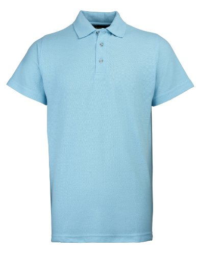 RTY Workwear Arbeitskleidung Heavyweight polo Sky XL