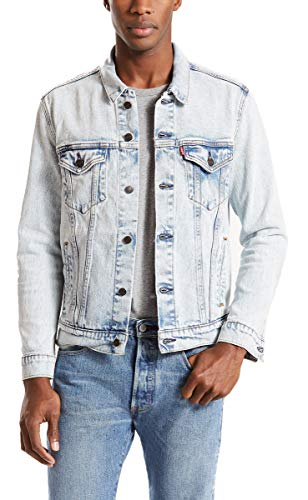 Levi's Men's Trucker Jacket, Pretty City/Stretch, -