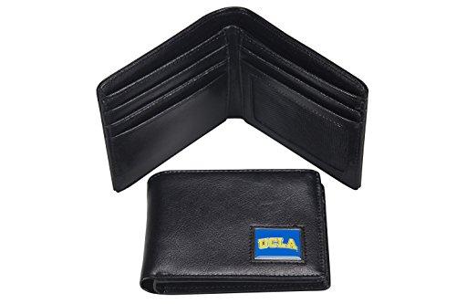 NCAA UCLA Bruins Men's Leather RFiD Safe Travel (Ucla Bruins Black Leather)