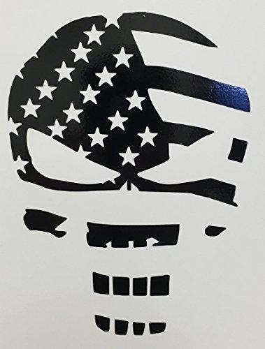 r Flag Decal Sticker | Black Vinyl ()
