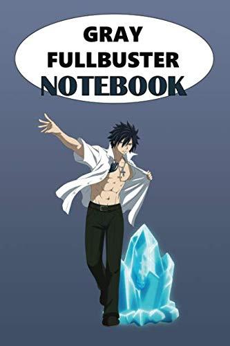 Gray Fullbuster Notebook: Anime Notebooks, Motivation, Inspiring, Journal, Fairy -
