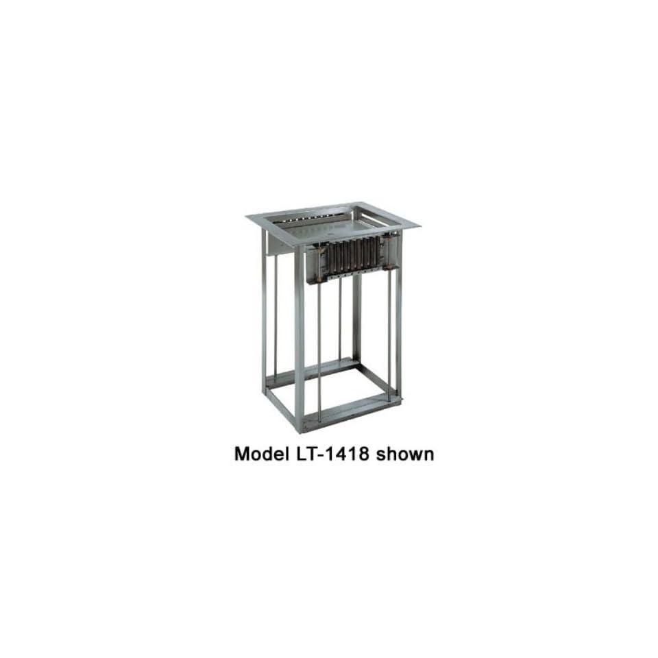 Delfield LT 1422 Single Drop In Open Tray Dispenser w/ Self Leveling, For 14 x 22 in, Each