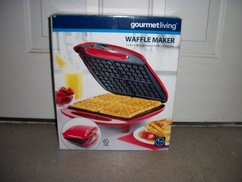 gourmetliving-waffle-maker