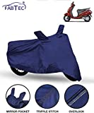 FABTEC Scooty/Scooter Cover for Honda Activa 4G, Blue