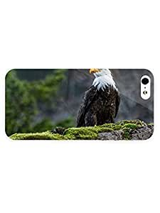 3d Full Wrap Case For Iphone 4/4S Cover Animal Eagle73
