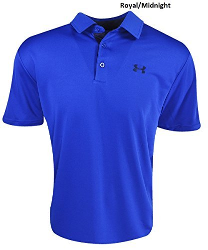Under Armour Men's UA Leaderboard Polo Medium Royal