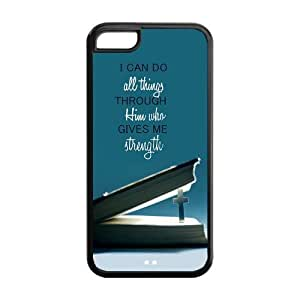 meilz aiaiCreative Book Christian Jesus Apple Iphone 5C Case Cover TPU Quoses Strengthmeilz aiai