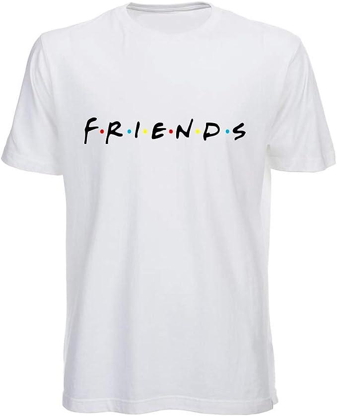 Generico T Shirt Friends Serie TV Uomo Bambino Maglietta Serie TV Anni 90