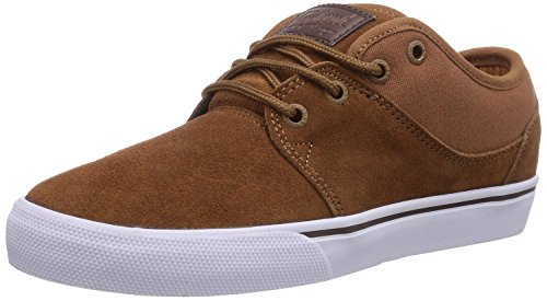 Globe Mahalo Toffee Hommes Suede Skate Baskets Chaussures