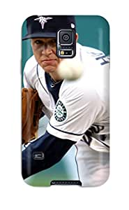 New Cute Funny Seattle Mariners Case Cover/ Galaxy S5 Case Cover