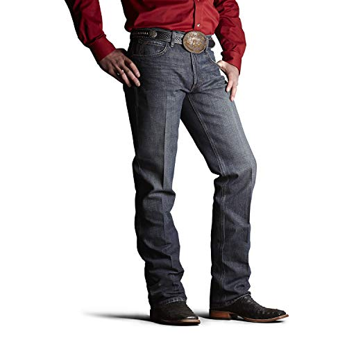 Ariat Men's M2 Relaxed Fitted Bootcut Jeans, Swagger, 36x32 from ARIAT