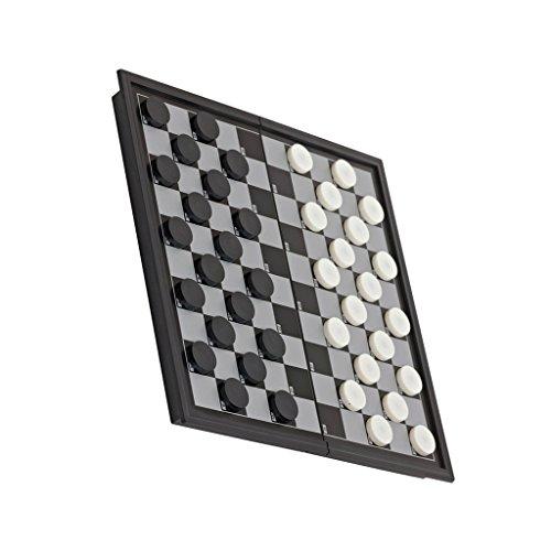 B Blesiya チェッカーボード チェスマン 折り畳み式 磁気 駒 チェスゲーム おもちゃ 贈り物