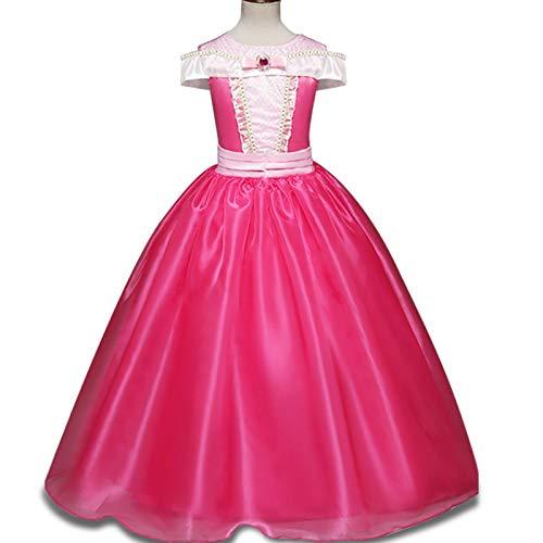 Pretty Belle Déguiser Aurore Dormant Costume La Bois Se Princesse Rose Fille Robe Au Vif Princess ZaUqpwZr