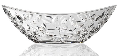 Lorenzo RCR Crystal Laurus Collection Oval (Collection Crystal Bowl)