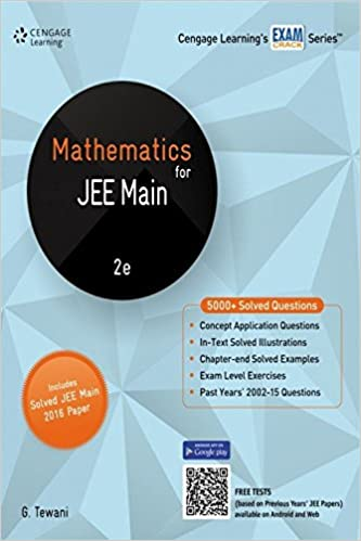 Mathematics For JEE Main: Amazon.in: G. Tewani: Books