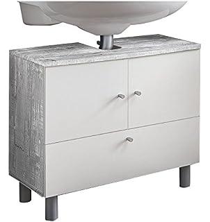 Elegant WILMES 85003 57 0 75 Badmöbel, Waschbecken Unterschrank,  Badezimmerunterschrank, Unterschrank Holz,