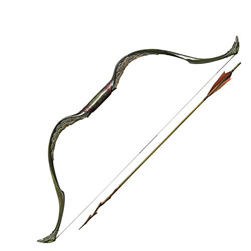 New Bow and Arrow of Tauriel - Includes a Free Quick Release Paracord Bracelet