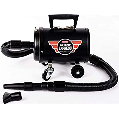 MetroVac 103-580911 Model AF-EXPRESS-25 All-New Air Force Express Car Dryer, 4.0 HP Twin Fan Motor, 10 Amps, 1200 Watts, 350 MPH/34000 LFM Airflow, Sturdy All Steel Construction: Automotive
