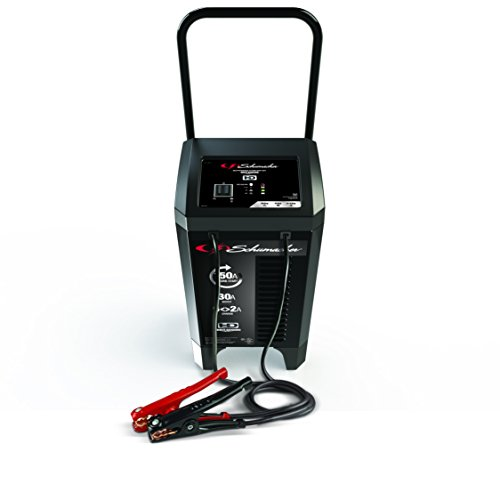 Schumacher SC1364 12V Automatic Wheeled Battery Charger with Engine Start