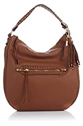 Jessica Simpson Angie Top Zip Hobo, Chestnut