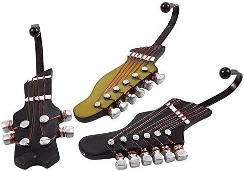Joeesun Guitarra de la Vendimia en Forma de Ganchos Decorativos ...