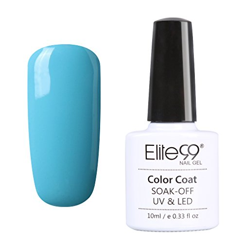 Elite99 Nail Gel Polish UV LED Magic Blue Series Manicure Pedicure 002 (002 Series)