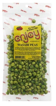 Enjoy Wasabi Peas 8 oz. (Pack of 4) by Enjoy (Image #1)