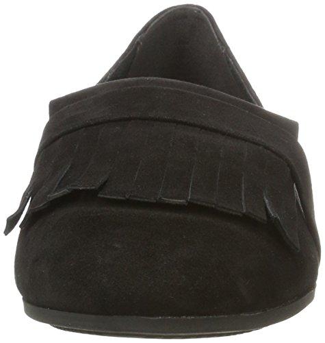 Tamaris Women's 24200 Loafers Black 8MeYG2D