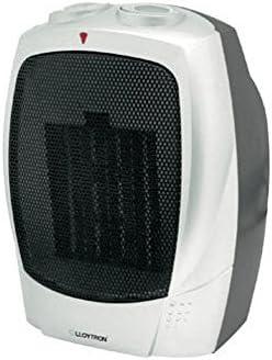 Lloytron PTC Ceramic Heater, 1500 Watt, Silver