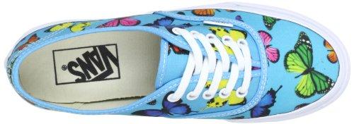 Vans U AUTHENTIC SLIM VQEV7GW Unisex-Erwachsene Sneaker Blau ((Butterflies) s)