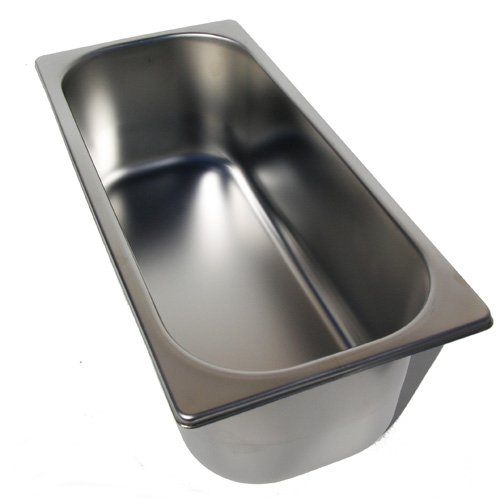 5 Liter Gelato Pans Stainless Steel by TurnKeyParlor