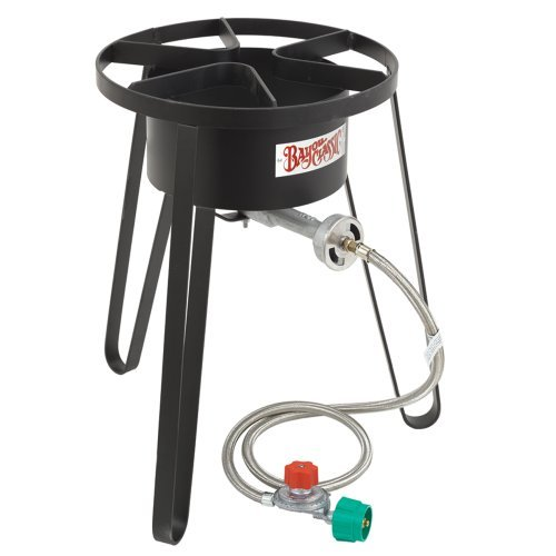 Bayou Classic SP50 Tall High-Pressure Outdoor Gas - Gas Cooker Powered