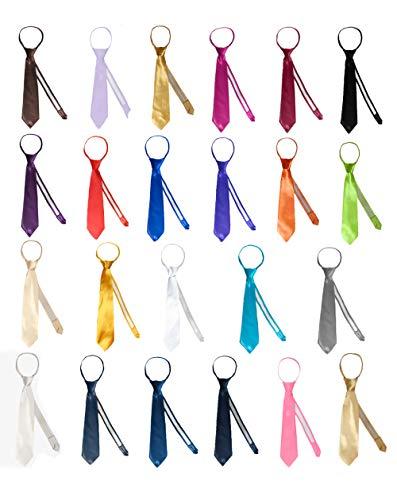 Lilac Cummerbund (MILLTEX Classic Gift Wedding Tuxedo Suits Color Satin Zipper Necktie from Boy Baby Toddler Teen (L (13.5 inches), Lilac))